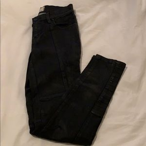 Free People Leather Jeans - Size 25